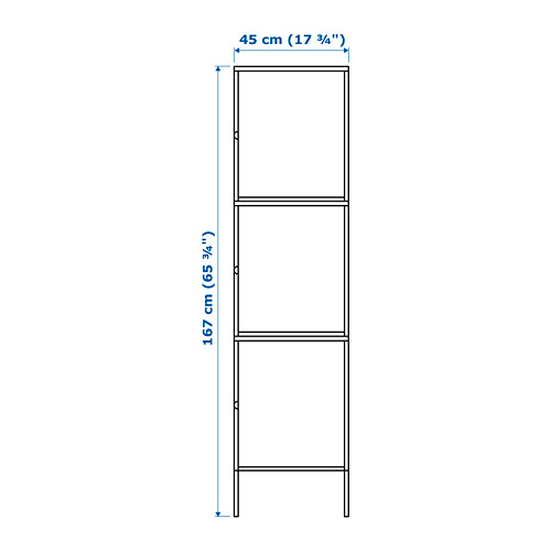 HÄLLAN - storage combination with doors, white | IKEA Hong Kong and Macau - PE664030_S4