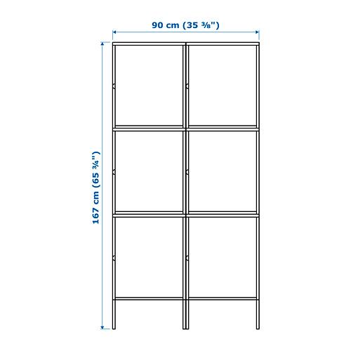 HÄLLAN - 貯物組合連門, 白色 | IKEA 香港及澳門 - PE664014_S4