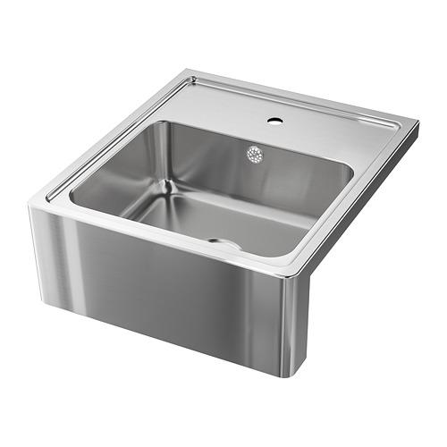 BREDSJÖN - 單星盆, 不銹鋼 | IKEA 香港及澳門 - PE711712_S4
