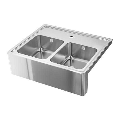 BREDSJÖN - 雙星盆, 不銹鋼   IKEA 香港及澳門 - PE711710_S4