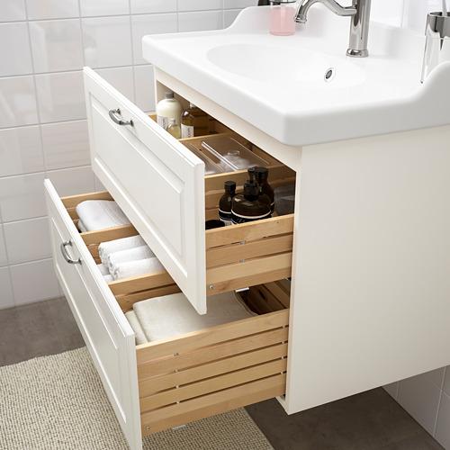 GODMORGON/RÄTTVIKEN - 雙抽屜洗手盆櫃, Kasjön white/Hamnskär tap | IKEA 香港及澳門 - PE661121_S4