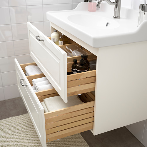 GODMORGON/RÄTTVIKEN - wash-stand with 2 drawers, Kasjön white/Hamnskär tap | IKEA Hong Kong and Macau - PE661121_S4