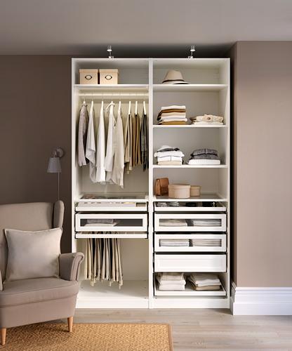 PAX - 衣櫃組合, 白色 | IKEA 香港及澳門 - PH171183_S4