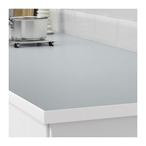 EKBACKEN - worktop, double-sided, light grey/white with white edge | IKEA Hong Kong and Macau - PE607946_S4