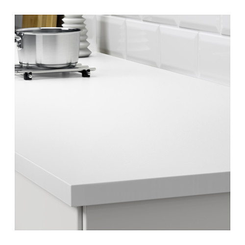 EKBACKEN - worktop, double-sided, light grey/white with white edge | IKEA Hong Kong and Macau - PE607955_S4