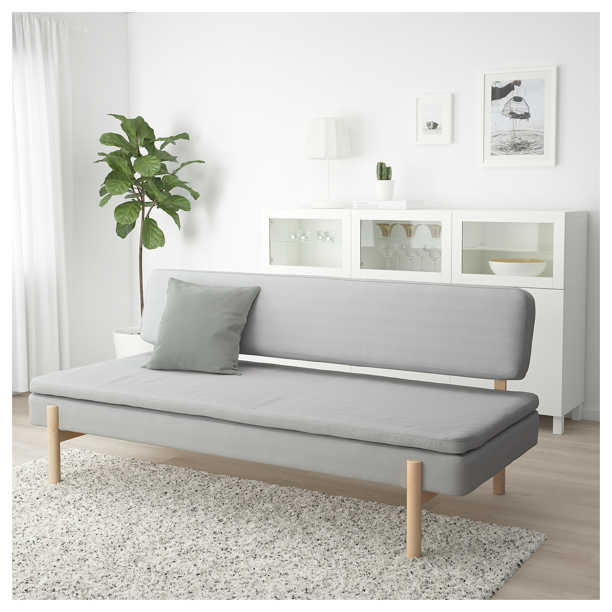 Miraculous Ypperlig 3 Seat Sofa Bed Orrsta Light Grey Ikea Hong Kong Gmtry Best Dining Table And Chair Ideas Images Gmtryco