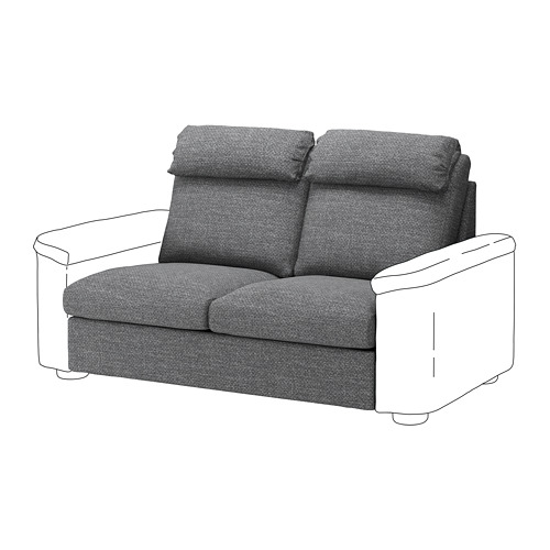 LIDHULT - 2-seat sofa-bed section, Lejde grey/black | IKEA Hong Kong and Macau - PE711761_S4