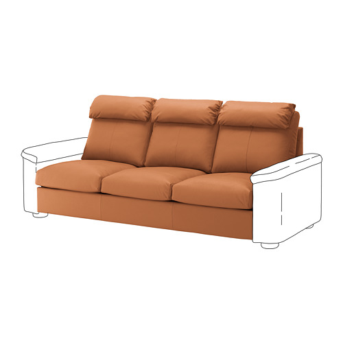 LIDHULT - 3-seat section, Grann/Bomstad golden-brown | IKEA Hong Kong and Macau - PE711770_S4
