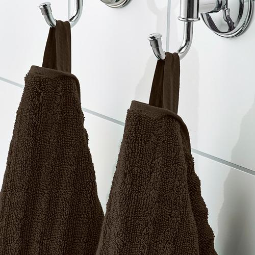 FLODALEN - 毛巾, 深褐色 | IKEA 香港及澳門 - PE751747_S4