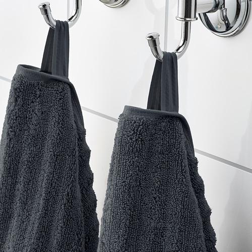 FLODALEN - 浴巾, 深灰色 | IKEA 香港及澳門 - PE751751_S4