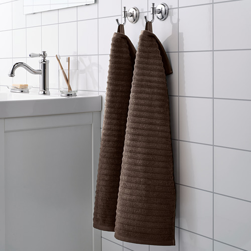 FLODALEN - 毛巾, 深褐色 | IKEA 香港及澳門 - PE751782_S4
