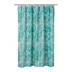 GATKAMOMILL - 浴簾, 湖水綠色/白色 | IKEA 香港及澳門 - PE751866_S3