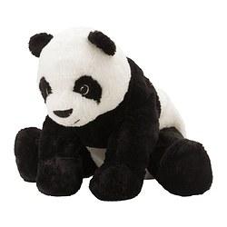 KRAMIG - 毛公仔, 白色/黑色 | IKEA 香港及澳門 - PE317642_S3