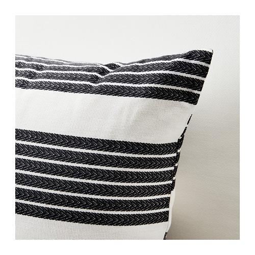 METTALISE - cushion cover, white/dark grey | IKEA Hong Kong and Macau - PE711889_S4