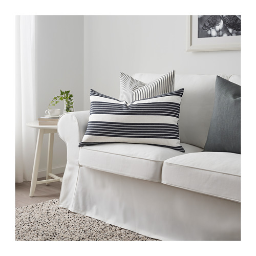 METTALISE - cushion cover, white/dark grey | IKEA Hong Kong and Macau - PE711891_S4