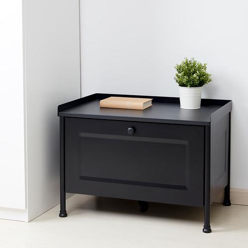KORNSJÖ - storage bench, black   IKEA Hong Kong and Macau - PE781261_S4