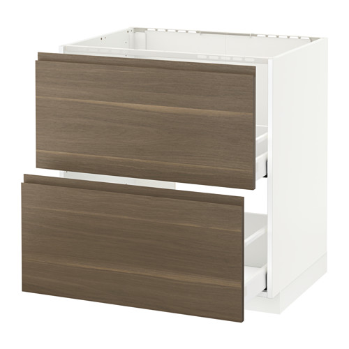 METOD base cab f sink+2 fronts/2 drawers