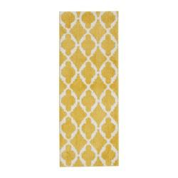AUNING - kitchen mat, yellow/white | IKEA Hong Kong and Macau - PE663469_S3
