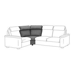 LIDHULT - 角位梳化, Lejde 灰色/黑色 | IKEA 香港及澳門 - PE711941_S3