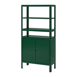 KOLBJÖRN - shelving unit with cabinet, green | IKEA Hong Kong and Macau - PE752177_S3