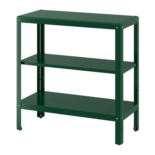 KOLBJÖRN - 層架組合,室內/戶外用, 綠色 | IKEA 香港及澳門 - PE752184_S4