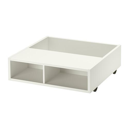 FREDVANG - underbed storage/bedside table, white | IKEA 香港及澳門 - PE808963_S4