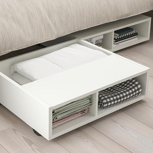 FREDVANG - underbed storage/bedside table, white | IKEA 香港及澳門 - PE808964_S4