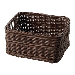 GABBIG - basket, dark brown | IKEA Hong Kong and Macau - PE608346_S3
