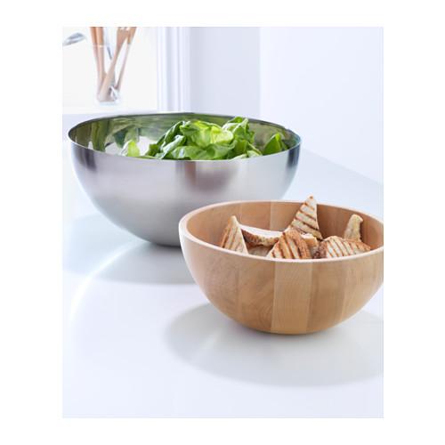 BLANDA MATT - serving bowl, bamboo, 20cm | IKEA Hong Kong and Macau - PE242706_S4