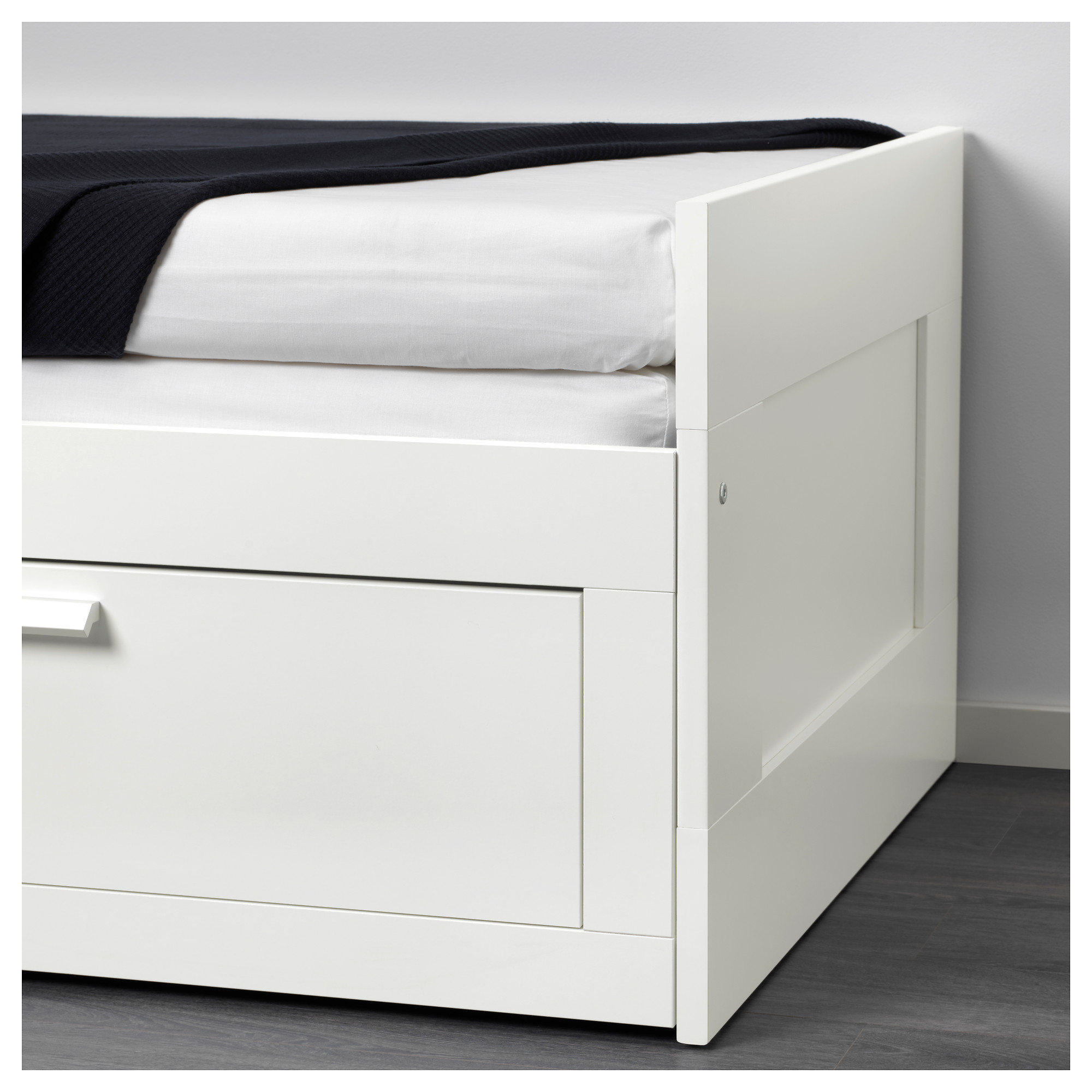 Brimnes Day Bed Frame With 2 Drawers White Ikea Hong Kong And Macau