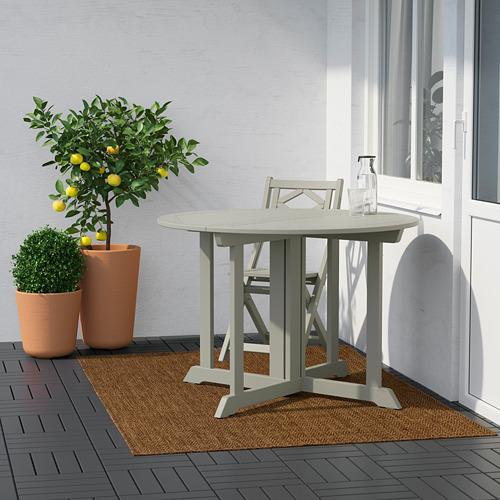 LYDERSHOLM - 室內/戶外用平織地氈, 暗褐色   IKEA 香港及澳門 - PE808274_S4