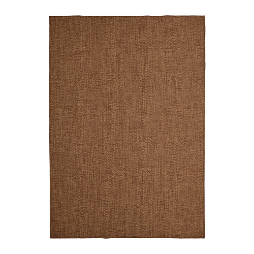 LYDERSHOLM - rug flatwoven, in/outdoor, medium brown | IKEA Hong Kong and Macau - PE808276_S4