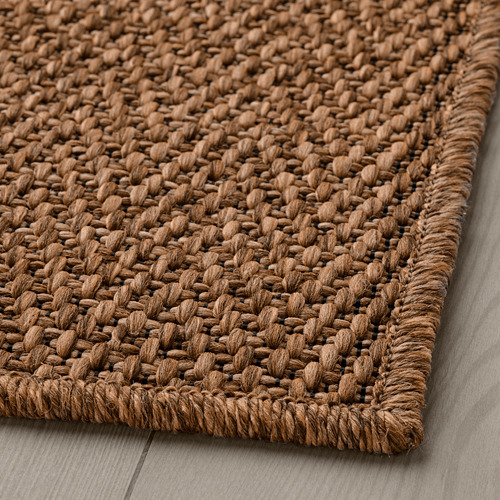 LYDERSHOLM - rug flatwoven, in/outdoor, medium brown | IKEA Hong Kong and Macau - PE808275_S4