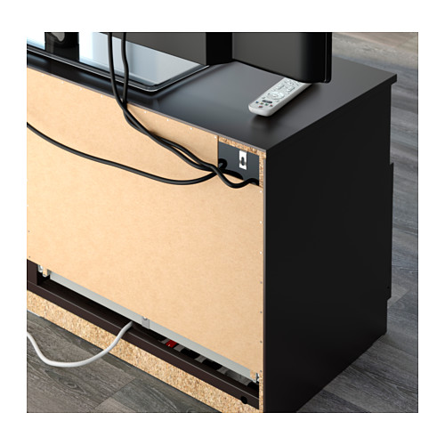 BRIMNES - 電視貯物組合, 黑色 | IKEA 香港及澳門 - PE608598_S4