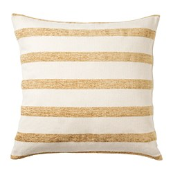 KNIPPARV - cushion, natural golden-yellow/striped | IKEA Hong Kong and Macau - PE752449_S3