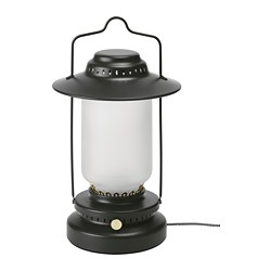STORHAGA - LED座檯燈, 可調式 戶外/黑色 | IKEA 香港及澳門 - PE752459_S3