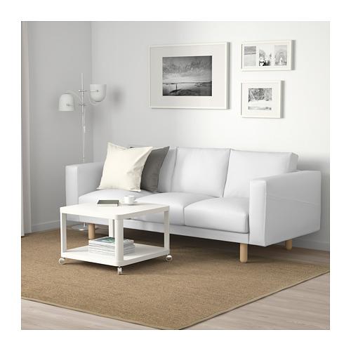 NORSBORG - 3-seat sofa, Finnsta white/birch | IKEA Hong Kong and Macau - PE663766_S4