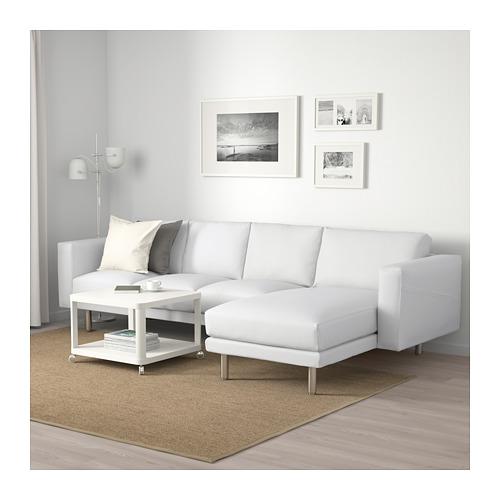 NORSBORG - 四座位梳化, 連躺椅/Finnsta 白色/金屬 | IKEA 香港及澳門 - PE663760_S4