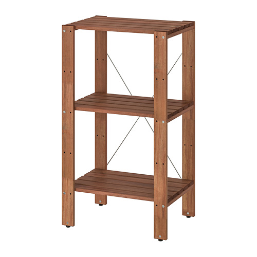 TORDH - shelving unit, outdoor, brown stained   IKEA Hong Kong and Macau - PE752519_S4
