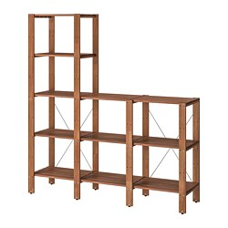 TORDH - shelving unit, outdoor, brown stained | IKEA Hong Kong and Macau - PE752520_S3