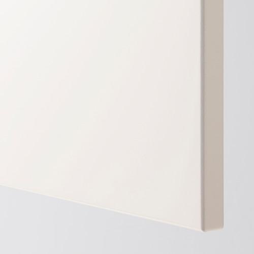 METOD - 雙門吊櫃連推按式開關, 白色/Veddinge 白色 | IKEA 香港及澳門 - PE388932_S4