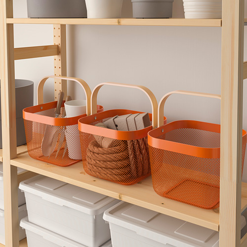 RISATORP - basket, orange | IKEA Hong Kong and Macau - PE808471_S4