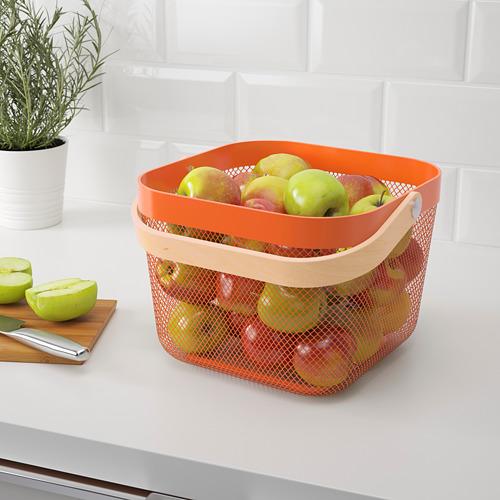 RISATORP - basket, orange | IKEA Hong Kong and Macau - PE808472_S4