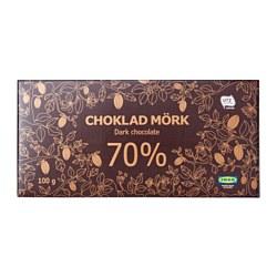 CHOKLAD MÖRK 70% - 黑朱古力 70%, 獲UTZ認證 | IKEA 香港及澳門 - PE608709_S3