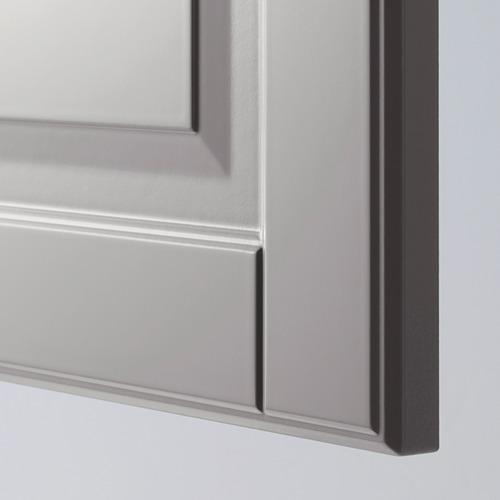 METOD - 角位地櫃連旋轉盤, 白色/Bodbyn 灰色 | IKEA 香港及澳門 - PE388871_S4