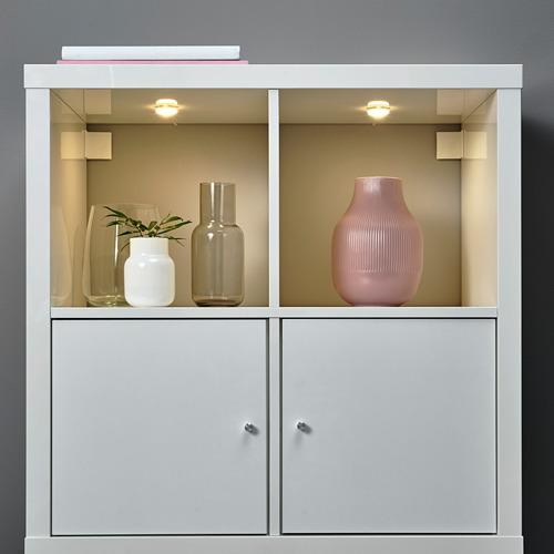 HALVKLART - LED櫃燈, 白色 | IKEA 香港及澳門 - PE808503_S4
