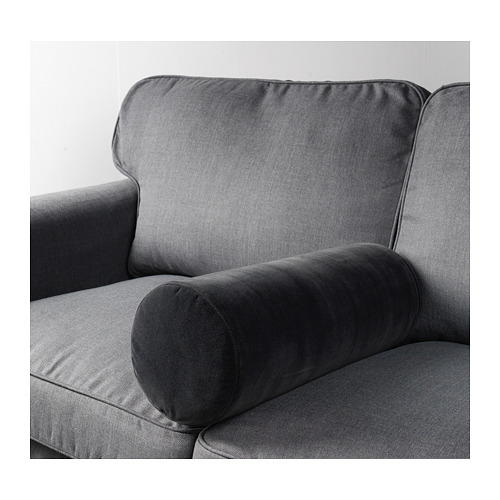 OMTÄNKSAM - armrest cushion, Djuparp dark grey   IKEA Hong Kong and Macau - PE663912_S4