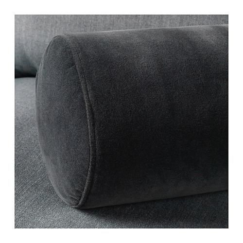 OMTÄNKSAM - armrest cushion, Djuparp dark grey   IKEA Hong Kong and Macau - PE663917_S4