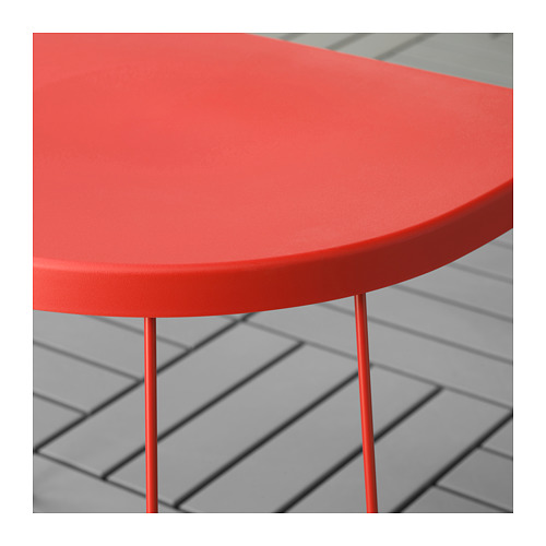 TRANARÖ - stool/side table, in/outdoor, red | IKEA Hong Kong and Macau - PE712443_S4