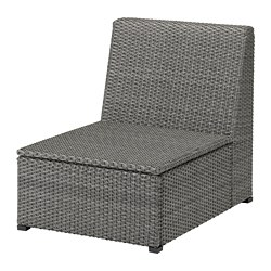 SOLLERÖN - one-seat section, outdoor, dark grey | IKEA Hong Kong and Macau - PE712451_S3